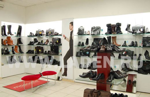 Производство мебели и дизайн магазина обуви Mascotte в Москве ... 13fbc76985d
